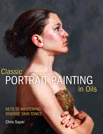 Classic Portrait Painting in Oils by Chris Saper