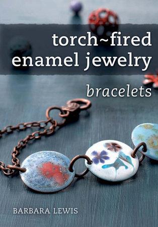 Torch-Fired Enamel Jewelry, Bracelets by Barbara Lewis