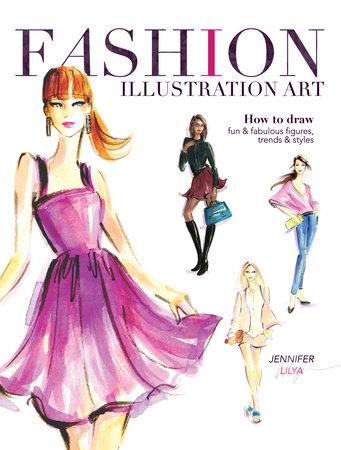 Fashion Illustration Art by Jennifer Lilya