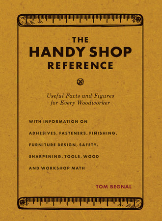 The Handy Shop Reference by Tom Begnal