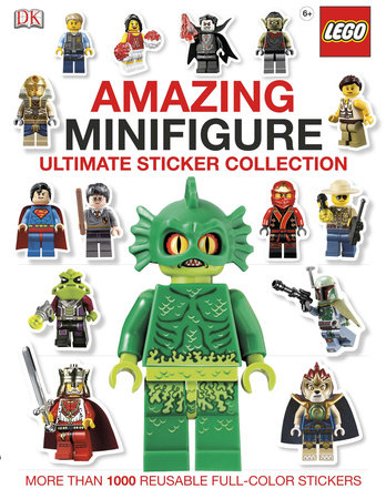 Ultimate Sticker Collection: Amazing LEGO® Minifigure by DK