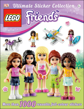 Ultimate Sticker Collection: LEGO® Friends by DK