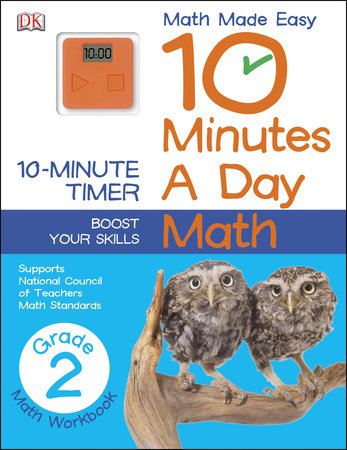 10 Minutes a Day: Math, Second Grade by DK