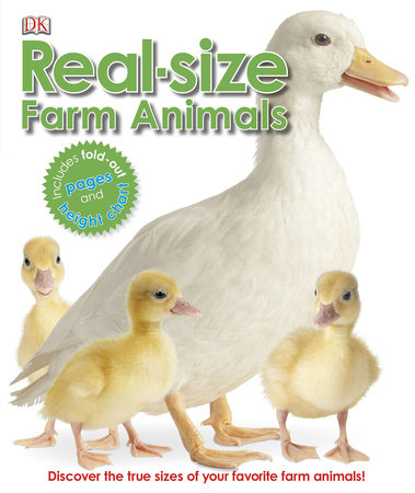 Real-size Farm Animals by DK
