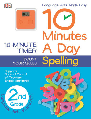 10 Minutes a Day: Spelling, Second Grade by DK