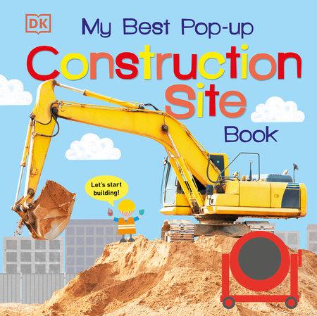 My Best Pop-up Construction Site Book by DK