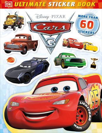 Ultimate Sticker Book: Disney Pixar Cars 3 by Lauren Nesworthy
