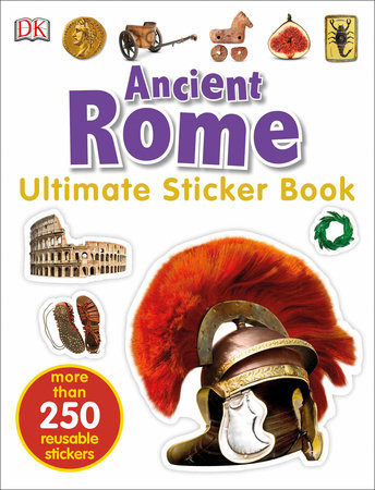Ultimate Sticker Book: Ancient Rome by DK