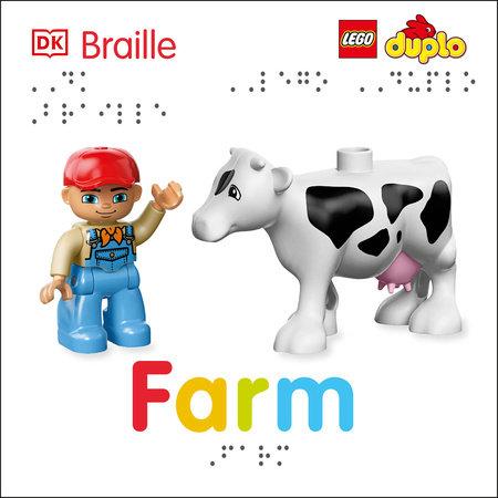 DK Braille: LEGO DUPLO: Farm by Emma Grange