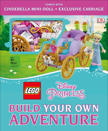 LEGO Disney Princess: Build Your Own Adventure by Tim Johnson and Beth Davies