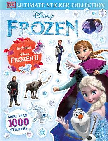 Disney Frozen Ultimate Sticker Collection Includes Disney Frozen 2 by DK