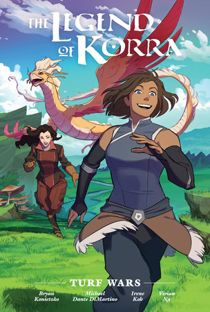 The Legend of Korra: Turf Wars Library Edition by Michael Dante DiMartino and Bryan Konietzko