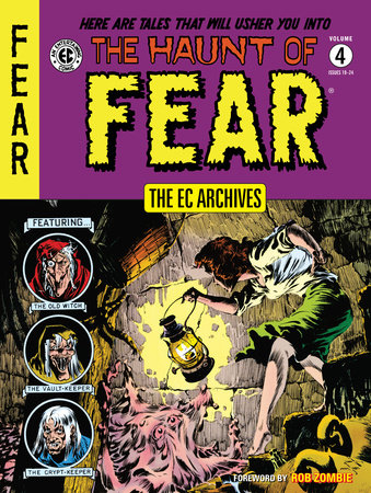 The EC Archives: The Haunt of Fear Volume 4 by Various
