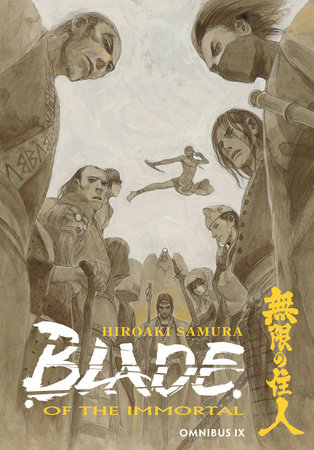 Blade of the Immortal Omnibus Volume 9 by Hiroaki Samura and Dana Lewis