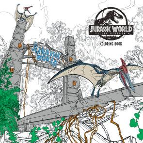 Jurassic World: Fallen Kingdom Adult Coloring Book