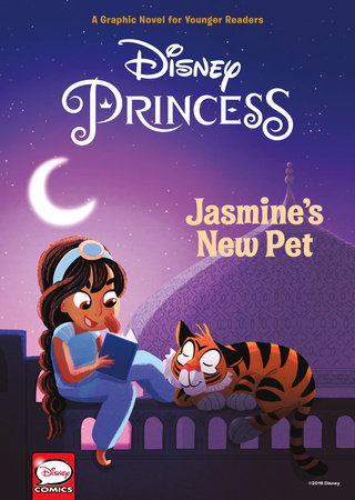 Disney Princess: Jasmine's New Pet (Younger Readers Graphic Novel) by