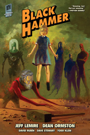 Black Hammer Library Edition Volume 1 by Jeff Lemire
