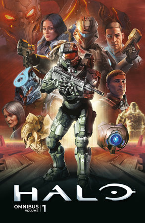Halo Omnibus Volume 1 by Written by Brian Reed, Chris Schlerf, and Duffy Boudreau with art by Marco Castiello, Sergio Arino, Ricardo Sanchez, and Douglas Franchin, and others.