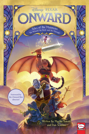 Disney/PIXAR Onward: Tales of the Manticore by Mariko Tamaki