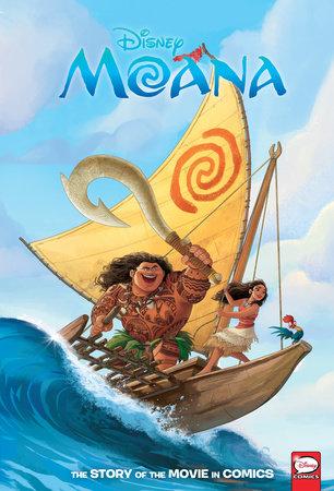 Disney Moana: The Story of the Movie in Comics by Alessandro Ferrari
