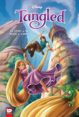 Disney Tangled: The Story of the Movie in Comics by Alessandro Ferrari