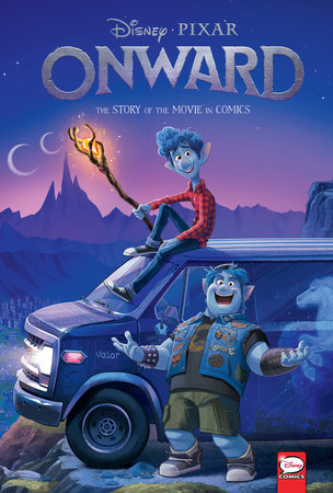 Disney/PIXAR Onward: The Story of the Movie in Comics by