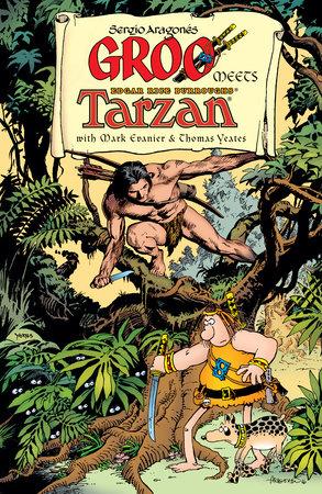 Groo Meets Tarzan by Mark Evanier