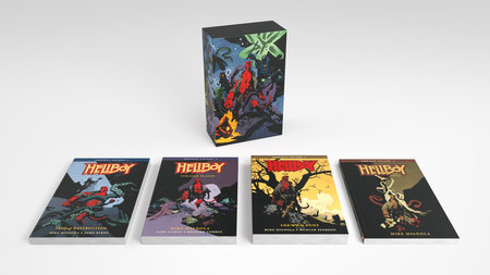 Hellboy Omnibus Boxed Set by Mike Mignola and John Byrne