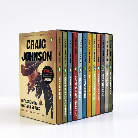 The Longmire Mystery Series Boxed Set Volumes 1-12 by Craig Johnson