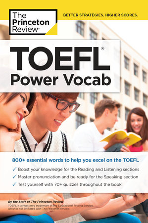 TOEFL Power Vocab by The Princeton Review