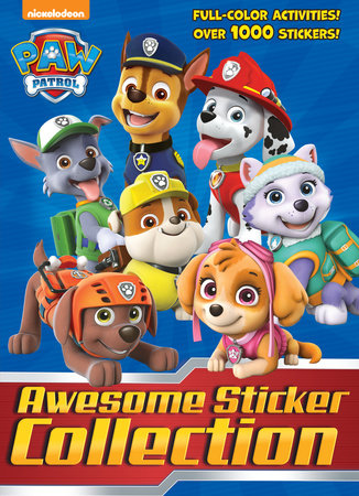 PAW Patrol Awesome Sticker Collection (PAW Patrol) by Golden Books