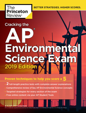 Cracking the AP Environmental Science Exam, 2019 Edition by The Princeton Review