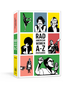 Rad American Women A-Z Postcards