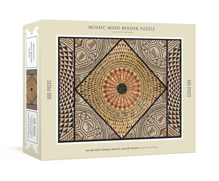 Mosaic Mind Bender 500-Piece Puzzle by The Getty