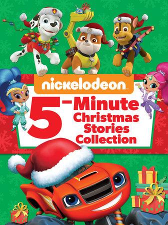 Nickelodeon 5-Minute Christmas Stories (Nickelodeon) by Random House