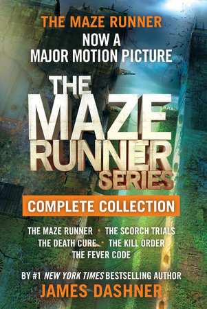 The Maze Runner Series Complete Collection (Maze Runner) by James Dashner