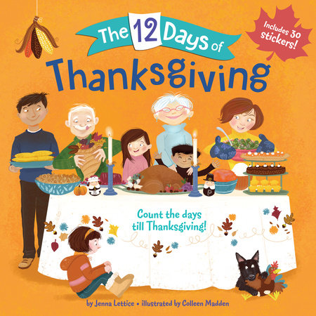 The 12 Days of Thanksgiving by Jenna Lettice