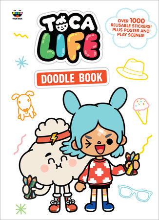 Toca Life Doodle Book (Toca Boca) by Golden Books; illustrated by Golden Books