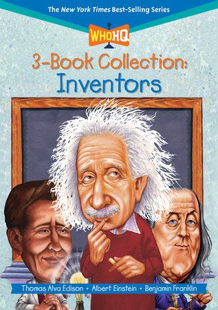 Who HQ 3-Book Collection: Inventors by Who HQ