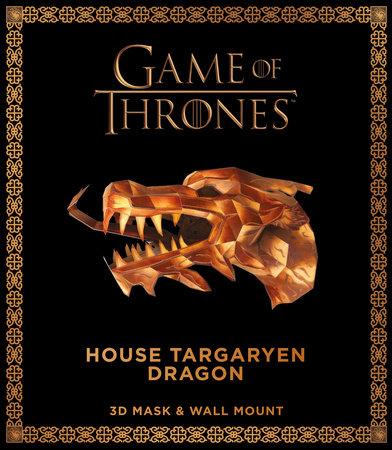 Game of Thrones Mask: House Targaryen Dragon (3D Mask & Wall Mount) by Wintercroft