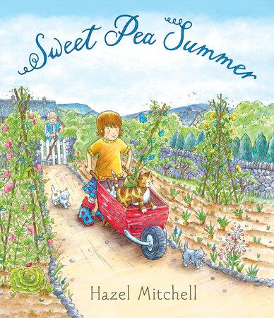 Sweet Pea Summer by Hazel Mitchell