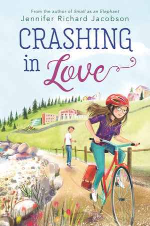 Crashing In Love by Jennifer Richard Jacobson