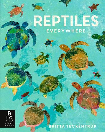 Reptiles Everywhere by Camilla de la Bedoyere