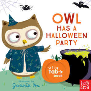 Owl Has a Halloween Party