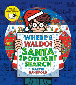 Where's Waldo? Santa Spotlight Search