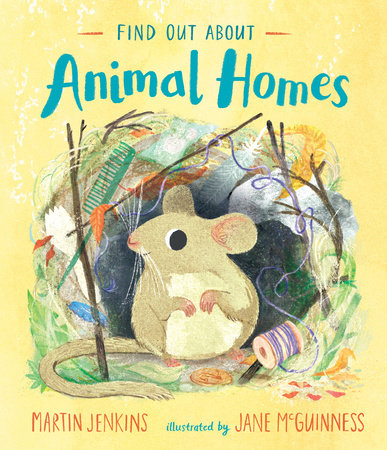 Find Out About Animal Homes by Martin Jenkins
