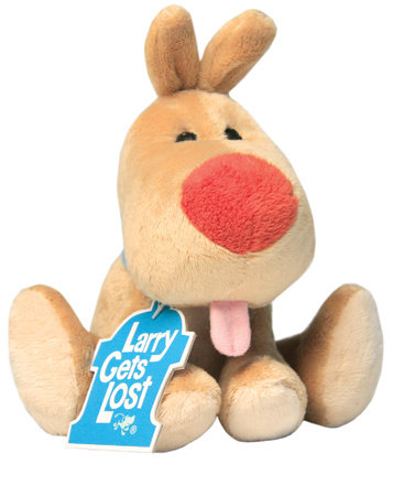 Larry Gets Lost Plush Doll by John Skewes