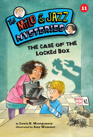 The Case of the Locked Box (Book 11) by Lewis B. Montgomery; illustrated by Amy Wummer