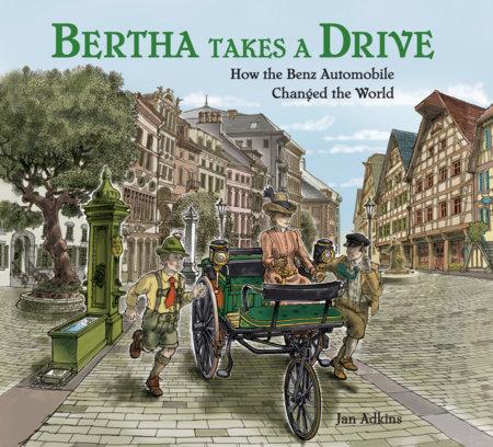 Bertha Takes a Drive by Jan Adkins