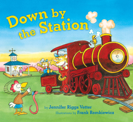 Down by the Station by Jennifer Riggs Vetter